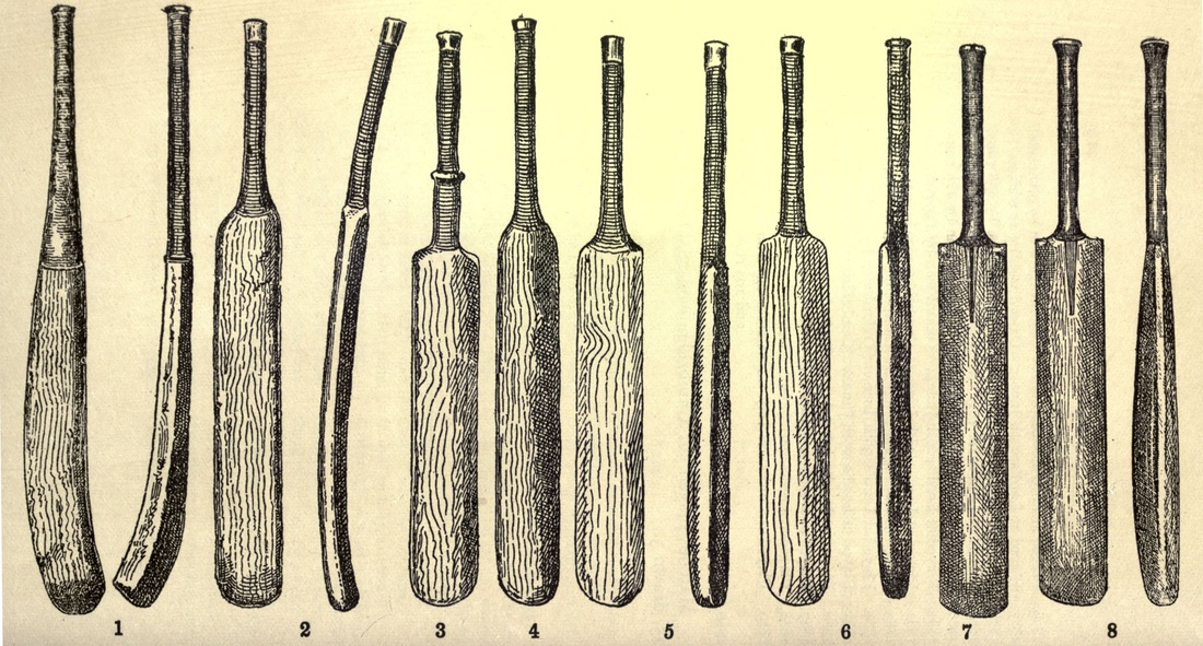 History Of Cricket Bats Cricket Lovers